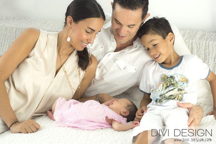 Familie Fotograaf Newborn Curacao - Divi Design