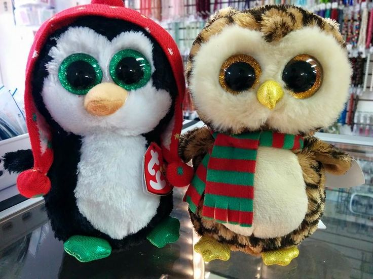 Freeze and Wise TY Beanie Boos