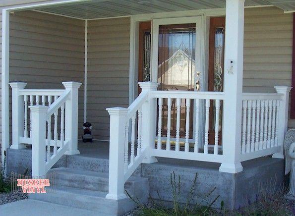 Best 25+ Porch railings ideas only on Pinterest | Deck ...