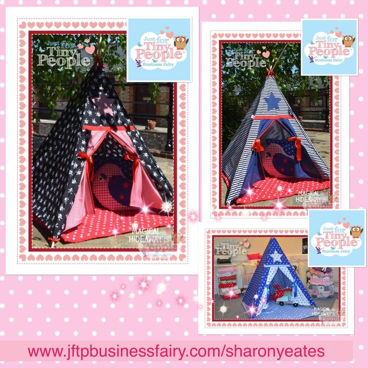The perfect hideaway and secret den for tiny people who love to run around, explore and play. Patterned with twinkly blue stars, which run all over the outside and decorate the inside too.   This teepee is perfect for tiny people up to the age of 7. The material used is handsewn by our Just For Tiny People fairies and machine washable.  EVERYTHING YOU NEED TO KNOW: - A midi children's teepee is approximately 100 cm tall and 95 x 95 cm at the base