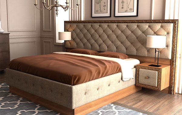 кровать в багете своими руками