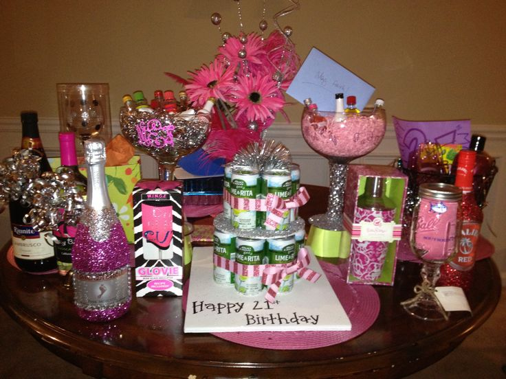My 21st birthday gifts gift ideas pinterest 21st for 21st party decoration