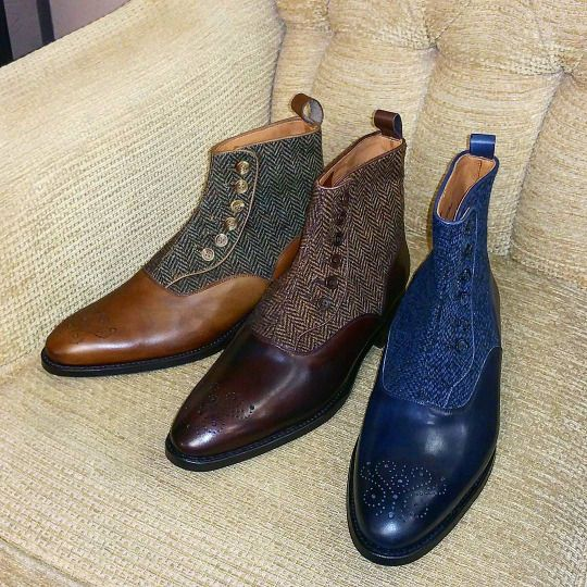 J Fitzpatrick Shoes For Sale And Ankle Boots For Men