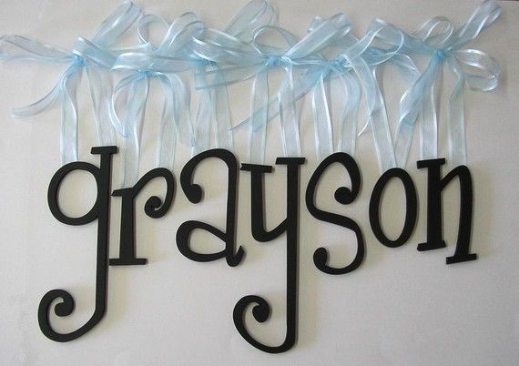 This is funny because its my friend's husband's name.... uncommon name & I just happened to stumble across it on etsy.  Cute letters though :)