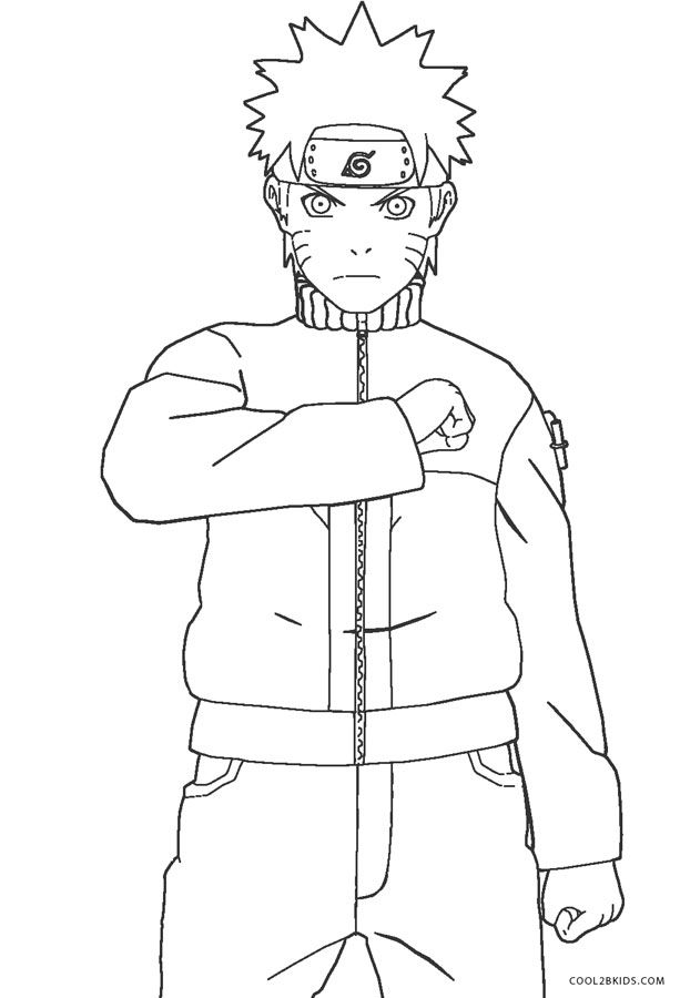 Free Printable Naruto Coloring Pages For Kids Naruto Coloring Pages Coloring Pages For Kids