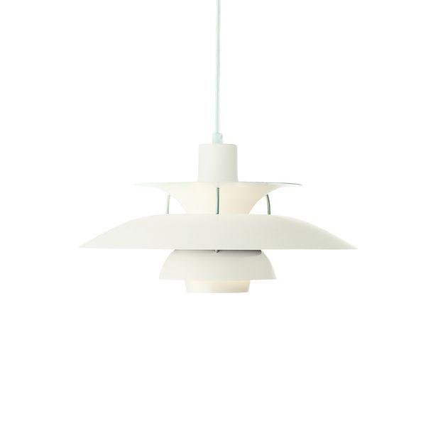 PH5 pakabinamas šviestuvas. Dizainas Poul Henningsen.