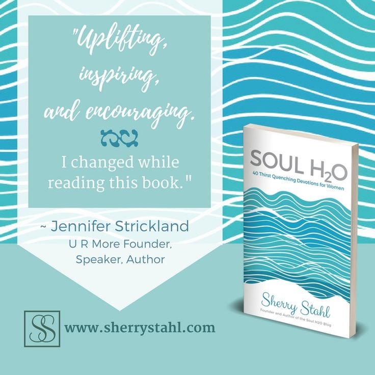 Love these words about the new book #SoulH2O from friend Jennifer Strickland! Check out @sherrylynnstahl 's info above for all the details!