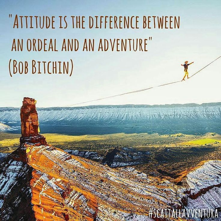 """""""Attitude is the difference between an ordeal and an adventure"""" (Bob Bitchin)  Hashtag #scattallavventura  #adventure #adventures #avventura #naturelovers #natureshots #nature #natura #outdoors #outdoor #citazioni #quotes #quote #inspiration #instafrasi #instamood #photographers #attitude #viaggio #trip #travel #traveler #travelphotos #photo #photoofday #picoftheday #instadaily #instapic  Photo by @timkemple  With @matteoratini @redblond_marydimauro"""