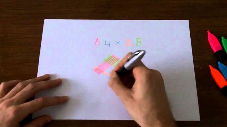 Rekenen op z'n Japans! Handig bij dyscalculie. Ook laat dit model zien hoe je je linker- en rechterhersenhelft kunt combineren bij cijferend rekenen.
