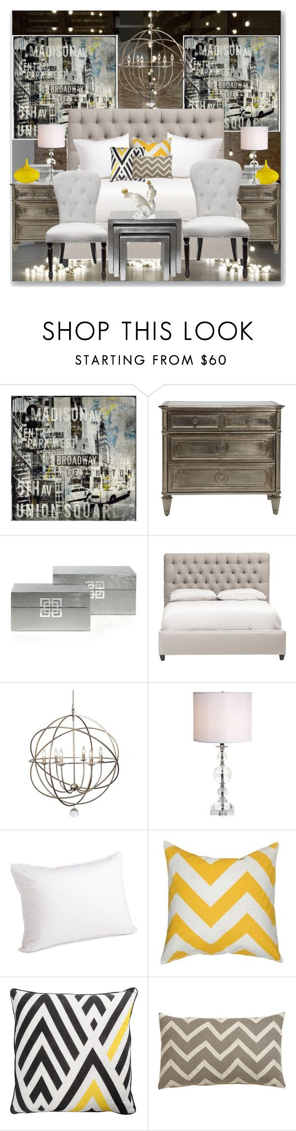 Bedroom -Bright Beginnings by lidia-solymosi on Polyvore featuring interior, interiors, interior design, home, home decor, interior decorating, Ethan Allen, Elisabeth Michael and bedroom