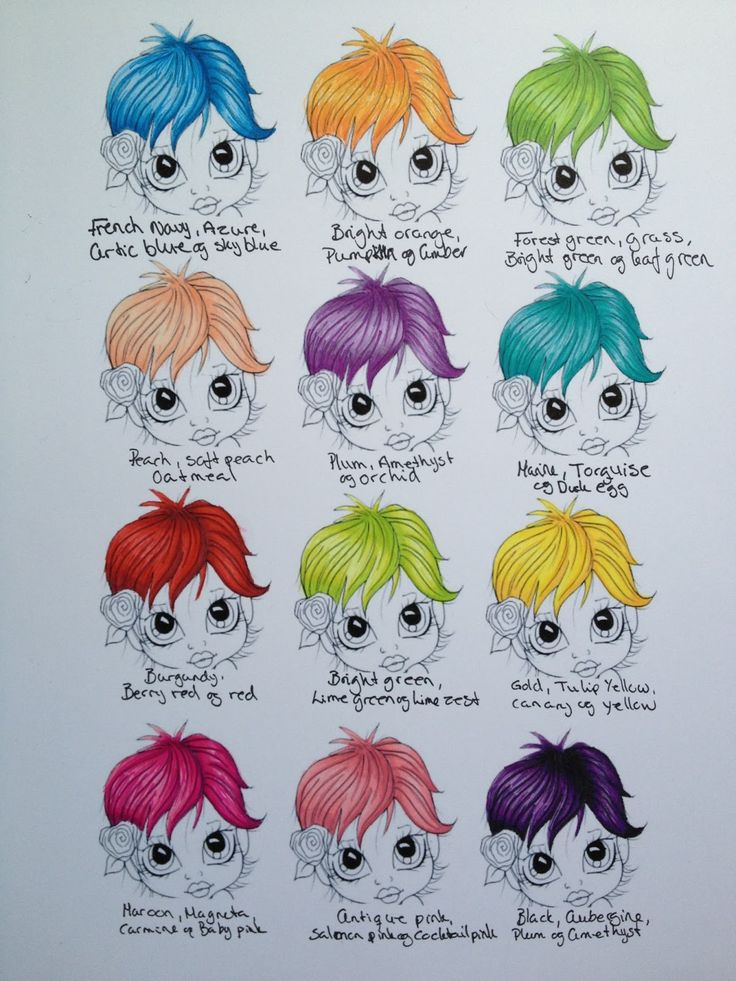Promarker fantasy hair