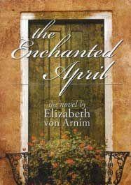 the enchanted april by Elizabeth von Arnim - cover