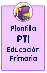 Plantilla editable de plan de trabajo individualizado para Educación Primaria