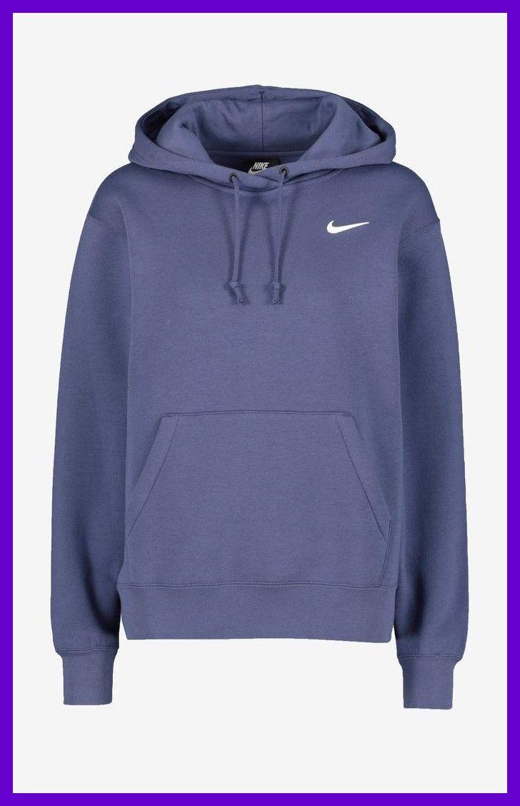 Womens Nike Sportswear Essential Fleece Hoody Purple Frauen Nike Sportswear Essential Fleece Hoody Lila In 2020 Nike Outfits Kapuzenpullover Kleidung Mode