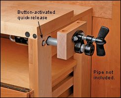 Pipe Vise - Woodworking