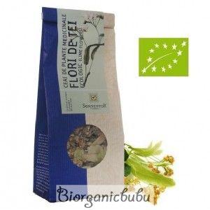 Ceai ecologic Flori de tei vrac, 35 g