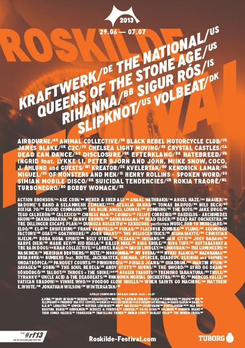 Roskilde 2013 poster