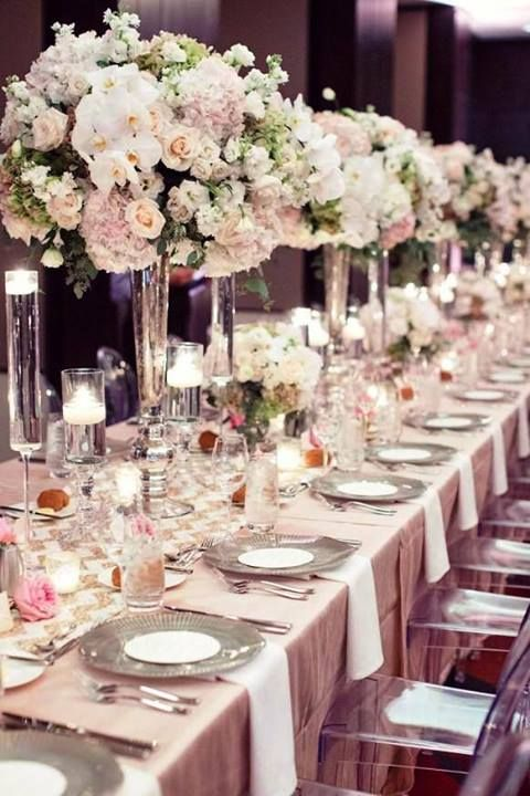 Blush Tablescape                                                                                                                                                                                 More