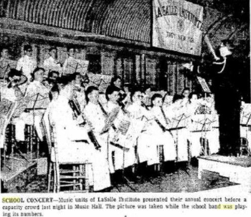10MAY56 LASALLE CONCERT TROY MUSIC HALL, my dad is probably in this pic somewhere