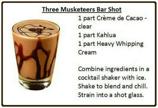 Three musketeers bar shot! YUMMY!!