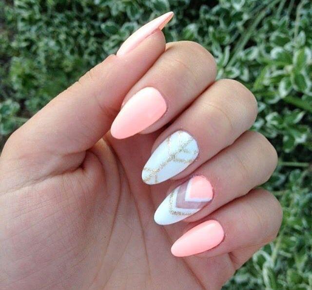 Semilac summer nails