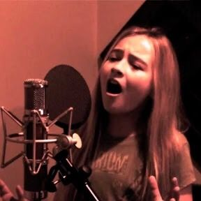 "2011 Sabrina Carpenter (showing her powerful voice at age 12) covers Adele ""Set Fire To The Rain"" in one her last home studio productions before going professional."