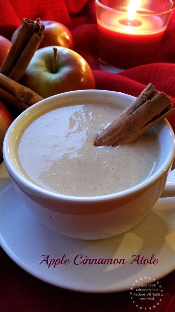 Apple Cinnamon Atole Recipe for the Holidays #GladeHolidayMood #ad