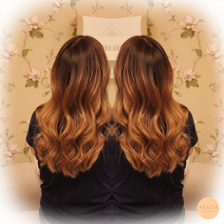 Vackert ombre hår
