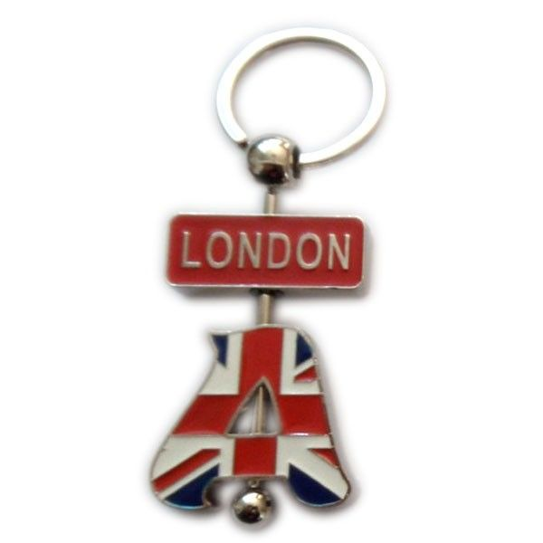 Custom Souvenir Letter Keychain For London  Keychain