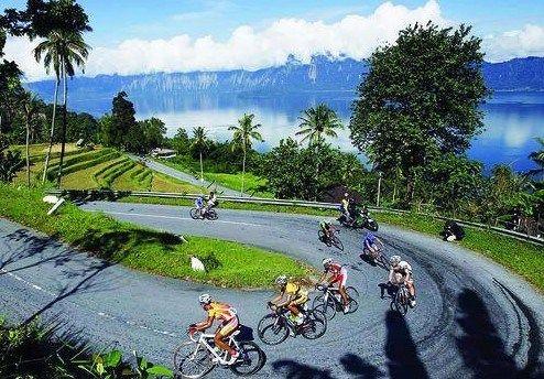 Tidak hanya Tour De Singkarak (TdS), event ini juga masuk agenda Internasional