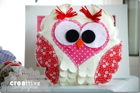 softie gufetto - civettina - owl