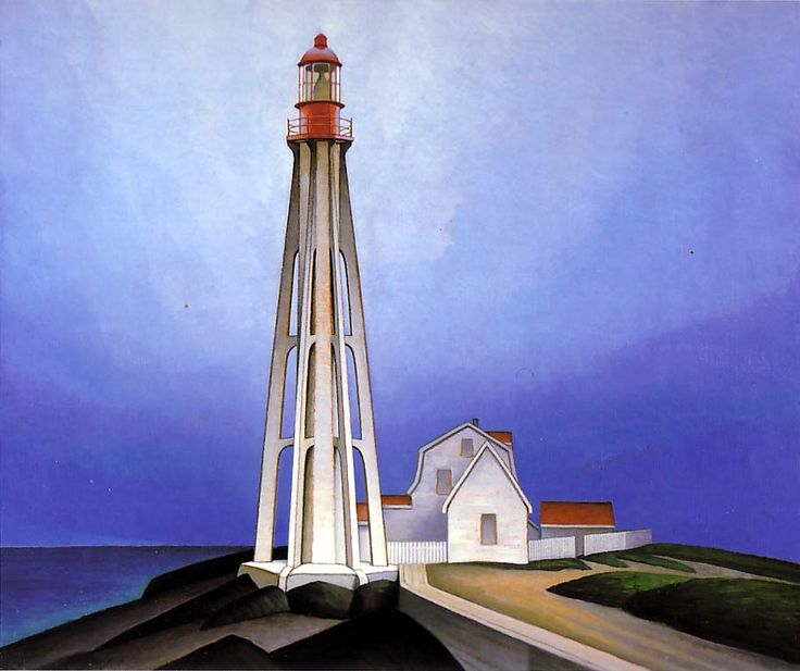 Lawren Harris  Lighthouse, Father Point