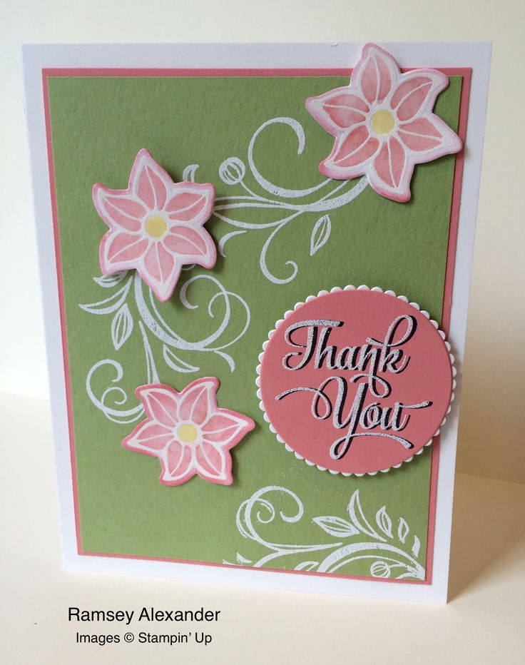 102 best falling flowers images on pinterest flower for Stampin pretty craft room
