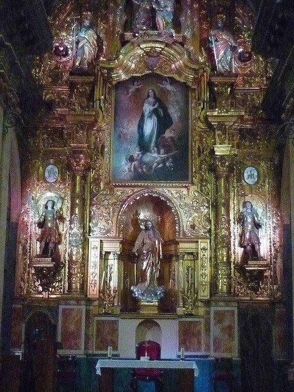 Cádiz - Oratorio de San Felipe Neri - Retablo Mayor   da Jose Alejandro de la Orden