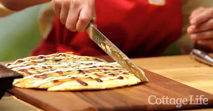 Anna shares her recipe for a cottage snack that won't keep you couped up in the kitchen. http://bit.ly/1MXSFd1
