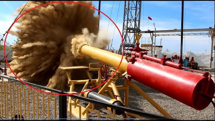 WTF!!...Gas Pipeline Purge And Huge Explosion On Oil Gas Wells
