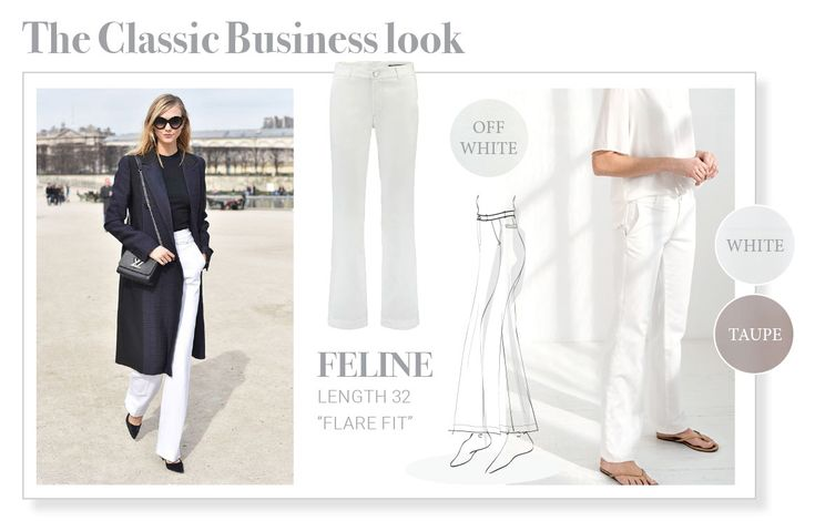 The Classic Business look, Fit Feline, Para Mi.