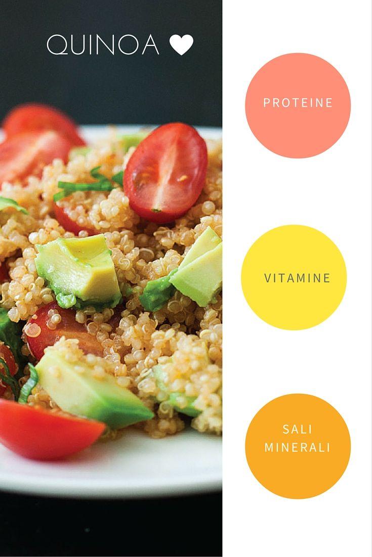 Ultimamente mi sto convertendo ad una dieta più sana ed equilibrata, riducendo il consumo di carne e aumentando quello di cereali proteici ( o legumi) come la quinoa. Oltre ad essere buona e gustosa, è davvero super salutare, vediamo perchè: