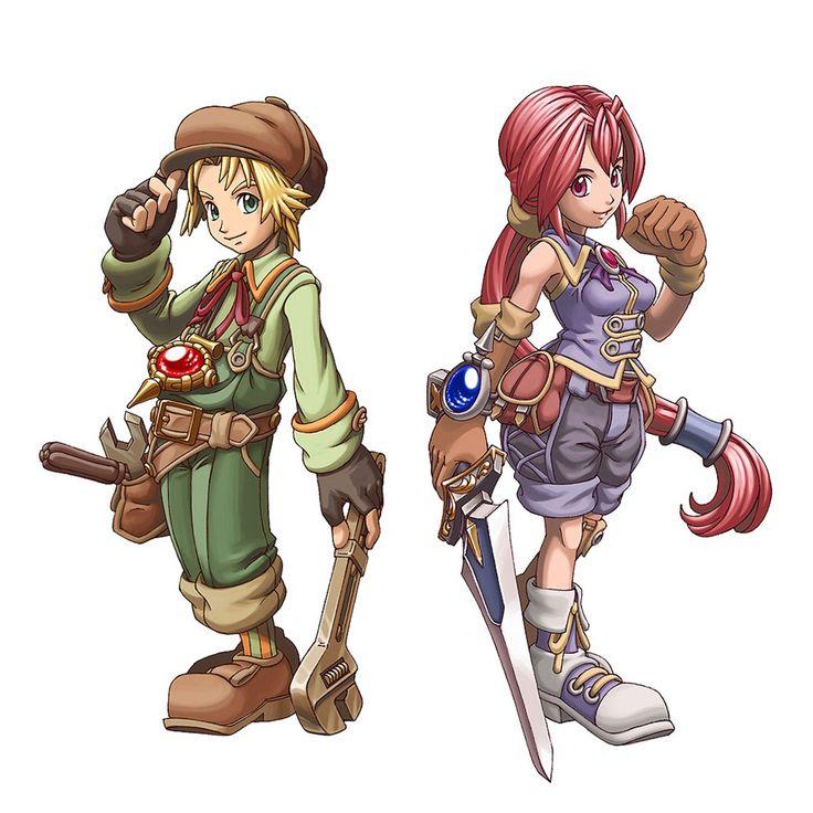 Max & Monica  (Dark Chronicles)