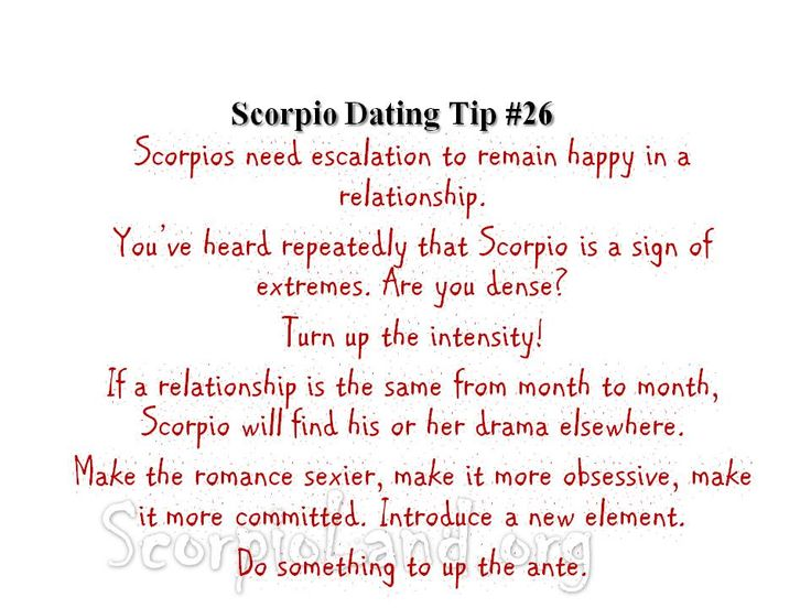 4 Dating Tips for Scorpio Women that Guarantee