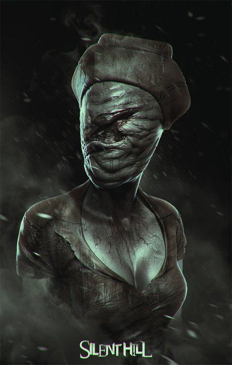 "quarkmaster: ""Nurse from Silent Hill Soufiane Idrassi """