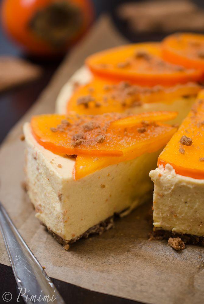 Kaki Spekulatius Cheesecake
