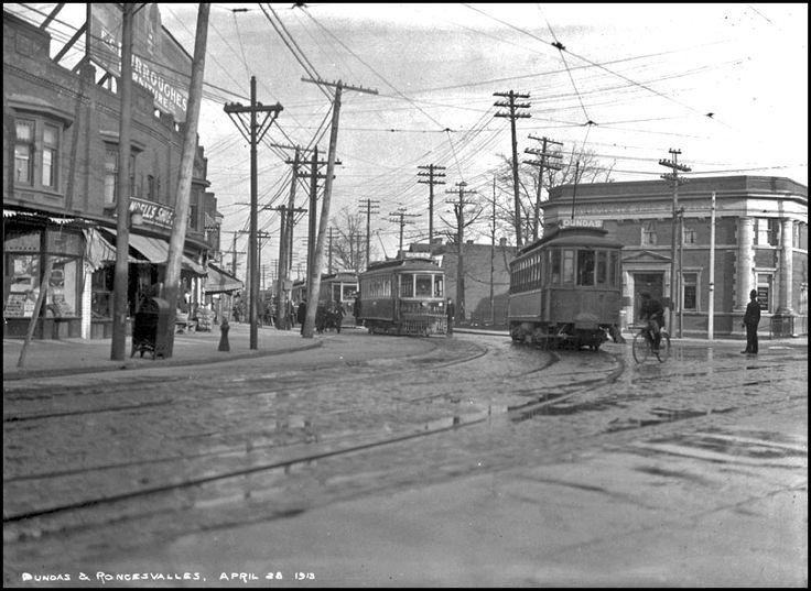 Dundas - Roncesvalles, 1913