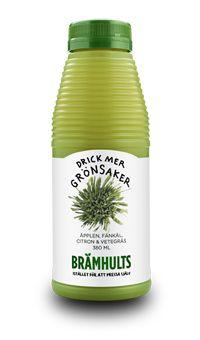 Brämhults Juice: Nypressade äpplen, fänkål, citron & vetegräs