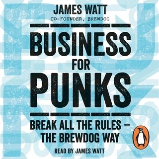 Business for Punks written and read by James Watt . Dont waste your time on bullshit business plans. Forget sales. Put everything on the line for what you