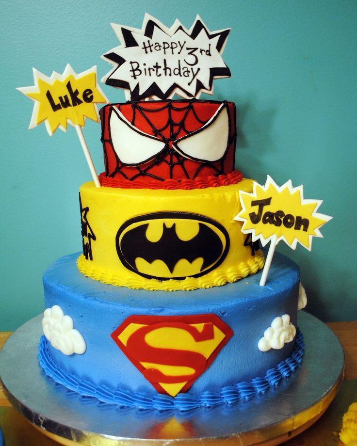 25+ best ideas about Superhero cake on Pinterest ...