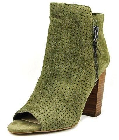 Jessica Simpson Keris Women US 5.5 Green Peep Toe Ankle Boot