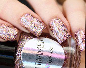 Shimmer Nail Polish - Sonia