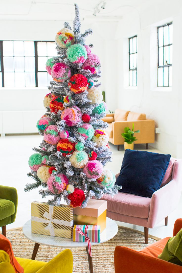 Our New Studio Seating Area + How We Decorated for Christmas! by top Houston Lifestyle Blogger Ashley Rose of Sugar and Cloth #christmas #diy #holiday #tree #christmastree #homedecor