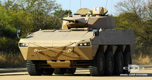 Denel's modular combat vehicle, set to meet the South African Army's requirement for a new infantry combat vehicle. - Image - Army Technology